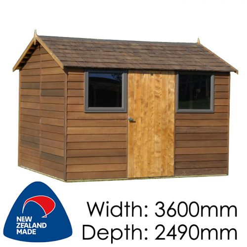 Garden Sheds NZ Cedar-Bentley-500x500