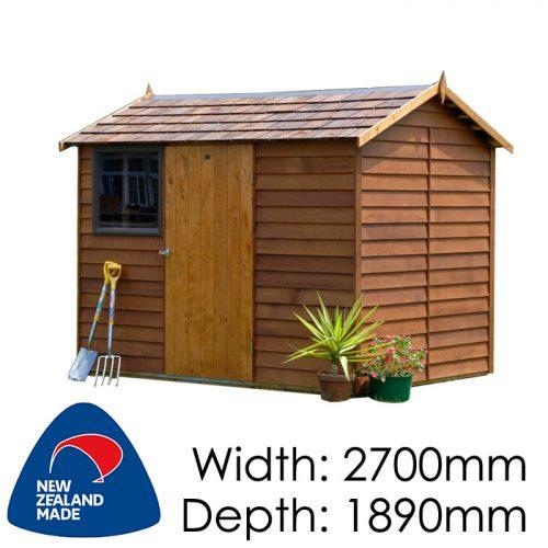 Garden Sheds NZ Cedar-Logan-500x500