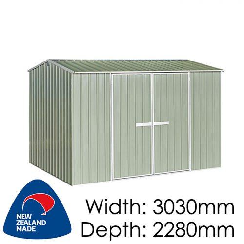 Garden Sheds NZ Galvo-3023-Hazy-Grey-500x500