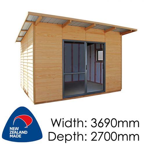 Garden Sheds NZ pinehaven-wakatipu-timber-shed-500x500