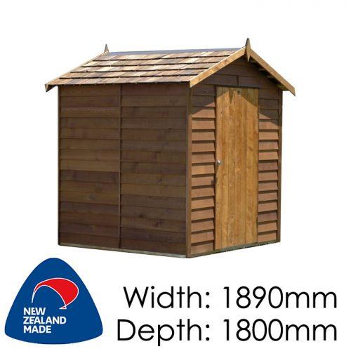 Garden Sheds NZ Cedar-Ferndale-500x500