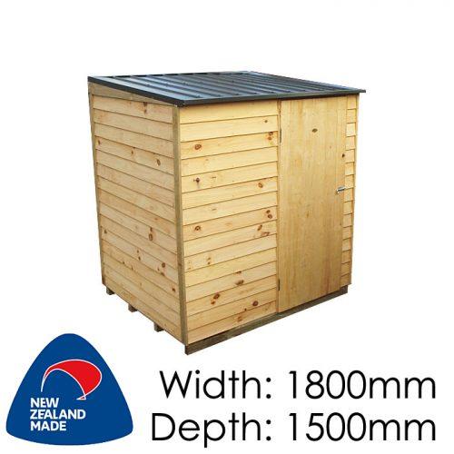 Garden Sheds NZ pinehaven-tasman-timber-shed-500x500
