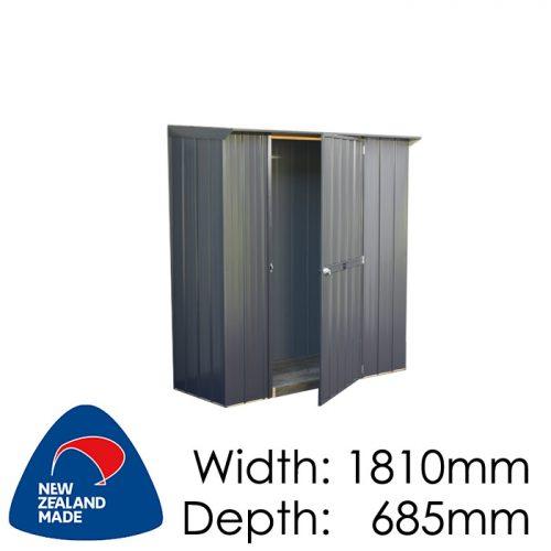 Garden Sheds NZ Duratuf-Fortress-Tuf-Locker-500x500