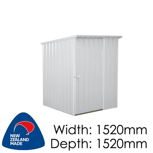 Garden Sheds NZ Smart-Store-SM1515-Zinc-1-500x500