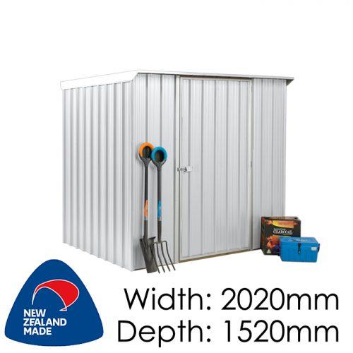 Garden Sheds NZ Smart-Store-SM2015-Zinc-1-500x500