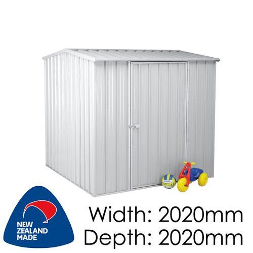 Garden Sheds NZ Smart-Store-SM2020-Zinc-1-500x500