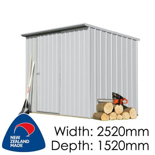 Garden Sheds NZ Smart-Store-SM2515-Zinc-1-500x500