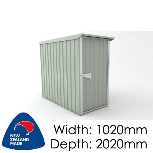 Garden Sheds NZ Smart-Store-SM1020-Mistgreen-500x500