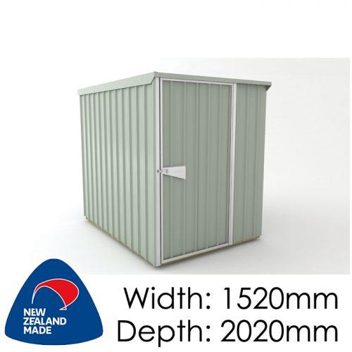 Garden Sheds NZ Smart-Store-SM1520-Mistgreen-500x500