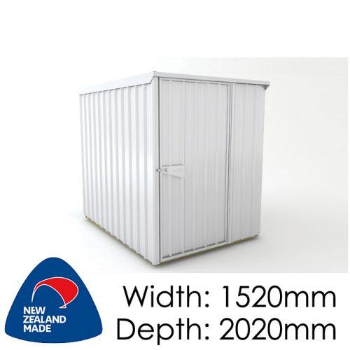 Garden Sheds NZ Smart-Store-SM1520-Zinc-500x500