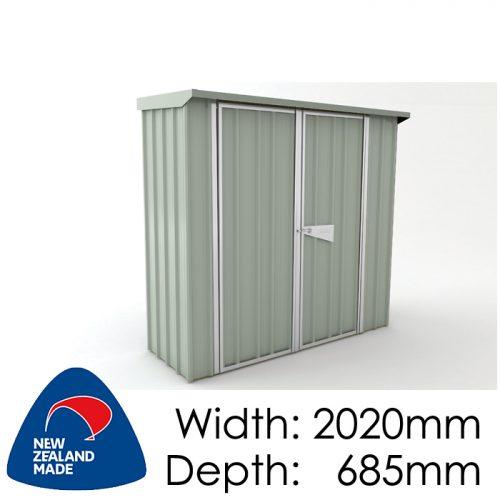 Garden Sheds NZ Smart-Store-SM2007-Mistgreen-500x500