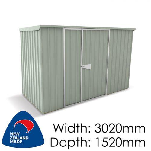 Garden Sheds NZ Smart-Store-SM3015-Mistgreen-500x500