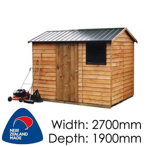 Garden Sheds NZ pinehaven-craigieburn-timber-shed1-500x500