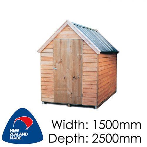 Garden Sheds NZ pinehaven-kaweka-timber-shed-1-500x500