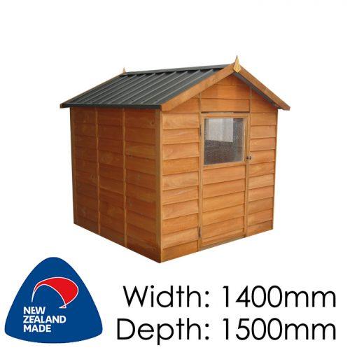 Garden Sheds NZ pinehaven-kk1-kids-timber-playhouse-500x500