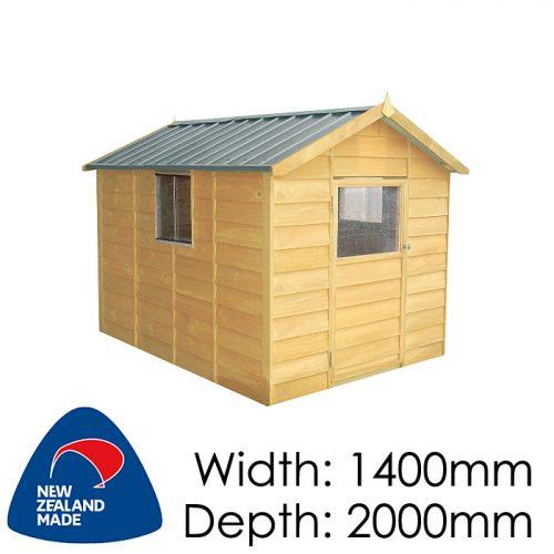 Garden Sheds NZ pinehaven-kk2-kids-timber-playhouse1-500x500