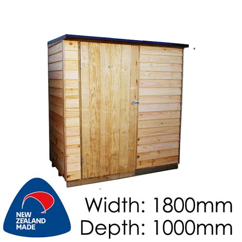 Garden Sheds NZ pinehaven-ruahine-timber-shed-500x500