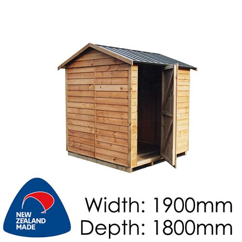 Garden Sheds NZ pinehaven-st-arnaud-timber-shed-500x500