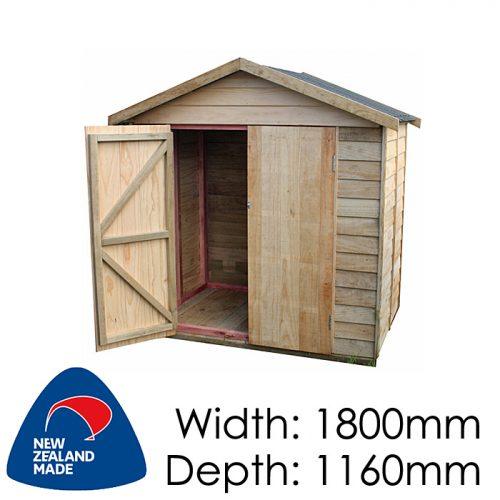 Garden Sheds NZ pinehaven-waiheke-timber-shed-500x500