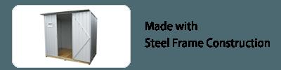 Garden Sheds NZ galvo-steel-framed-construction