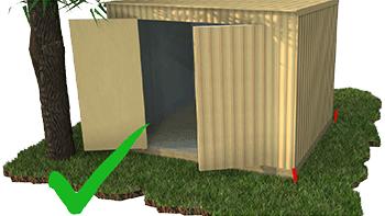 Garden Sheds NZ door-clearance-2